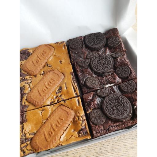 Mixed box of Vegan Brownies